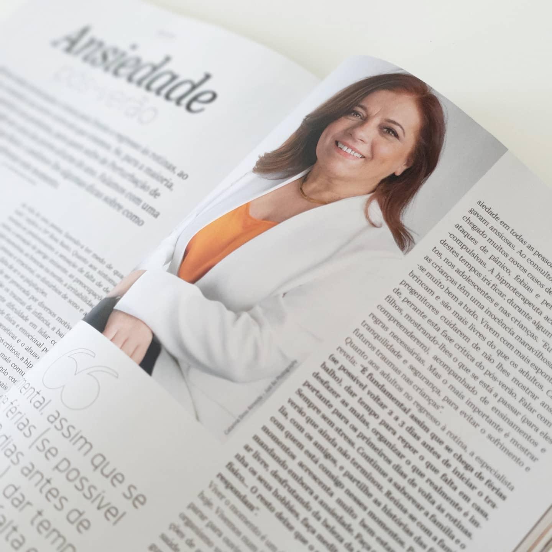 Dra. Rosa Basto na revista Cristina